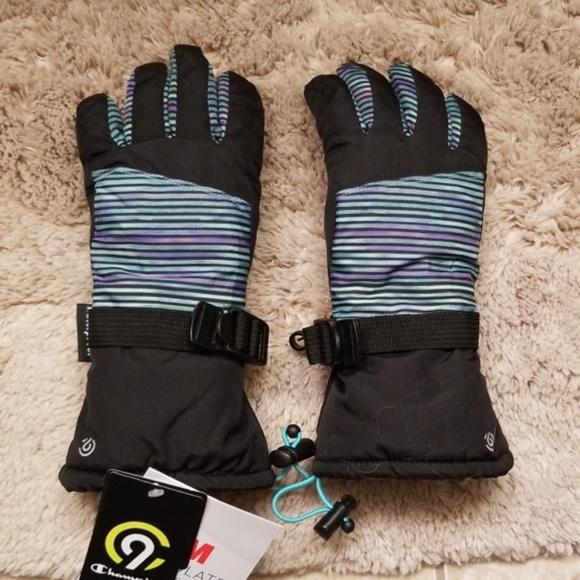 ffad5918264e Kids  Waterproof Ski Gloves